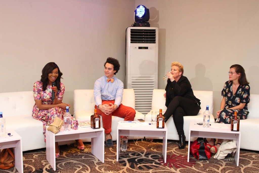 L -R: Betty Irabor (Founder and Publisher, Genevieve Magazine and Creative Curator, Cointreau Creative Crew), Alfred Cointreau (Heritage Manager and great grandson – sixth generation of the family of Founder Edouard Cointreau), Antoinette Drumm (Zone Director Africa & ME, Remy Cointreau Group) and Valentine Mathieu (Cointreau Brand Manager, EMEA)