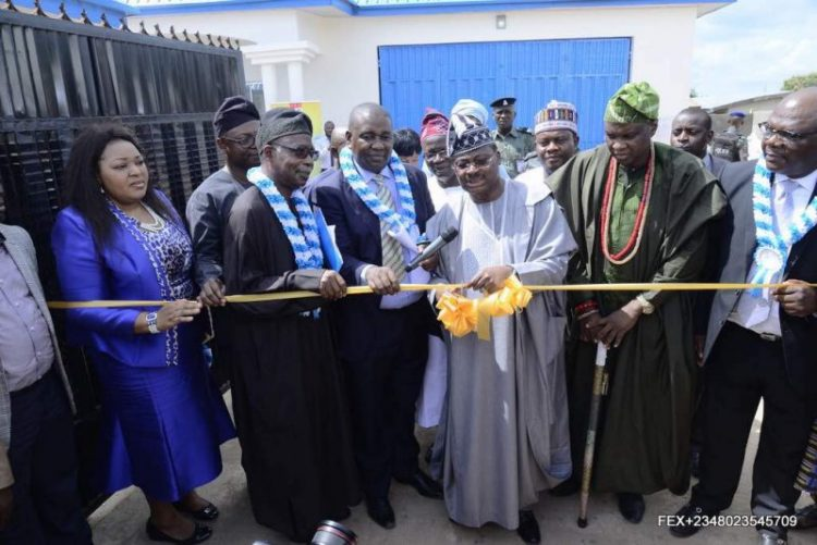 FrieslandCampina WAMCO commissions new milk collection centre in Saki, Oyo State - Brand Spur