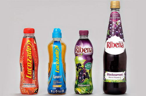 Ribena and Lucozade brands